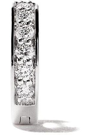 ALINKA Women Earrings - 18kt white gold IRINA diamond huggie earring