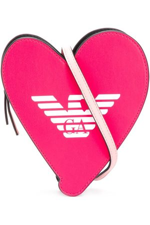 Emporio Armani Girls Bags - Heart sling bag