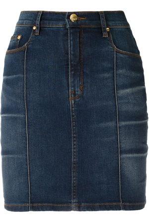 AMAPÔ Cris high waisted denim skirt