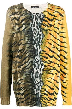 Neil Barrett Safari print jumper
