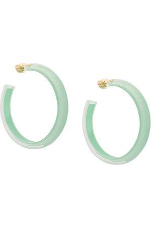 ALISON LOU Medium LOUcite Jelly hoops