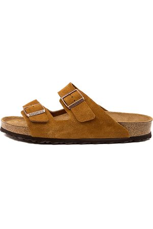 Birkenstock Men Sandals - Arizona Sfb Sd Men's Bk Mink Sandals Mens Shoes Casual Sandals Flat Sandals