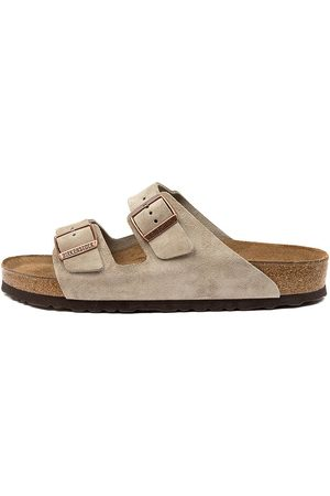 Birkenstock Arizona Sfb Sd Men's Bk Taupe Sandals Mens Shoes Casual Sandals Flat Sandals
