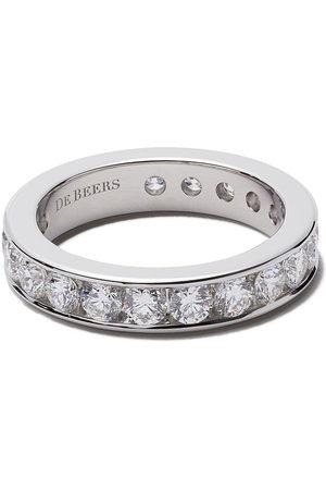 De Beers Channel Set Full diamond eternity band