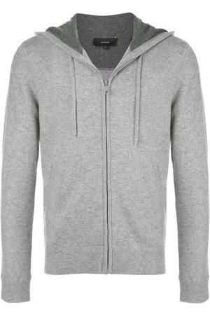 Vince Zip-up drawstring hoodie