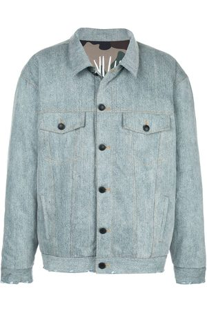 HACULLA Acid wash reversible denim jacket