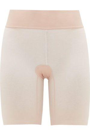 Wolford Sheer Touch Mesh Shapewear Shorts - Womens