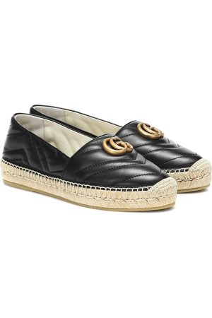 Gucci Marmont quilted leather espadrilles