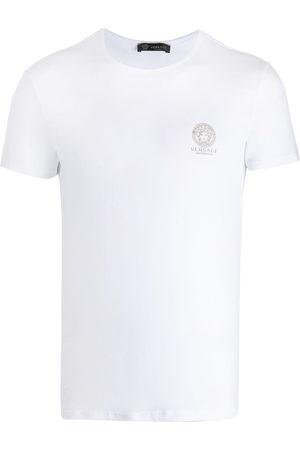 VERSACE Medusa chest logo T-shirt