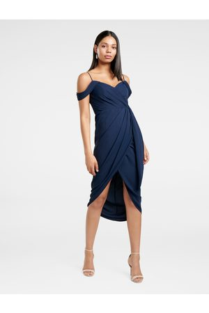 Forever New Hadley Waterfall Midi Dress