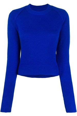 RTA Cashmere ribbed neck jumper