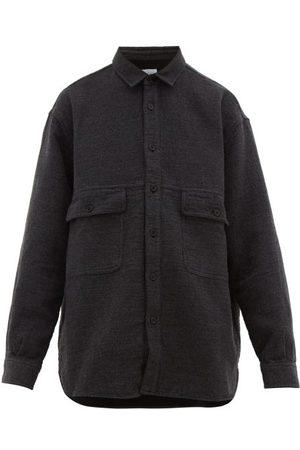 Raey Oversized Textured Cotton-blend Shirt - Mens