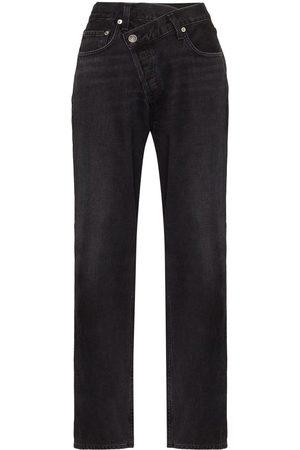 AGOLDE Women Bootcut & Flares - Criss-cross wide leg jeans