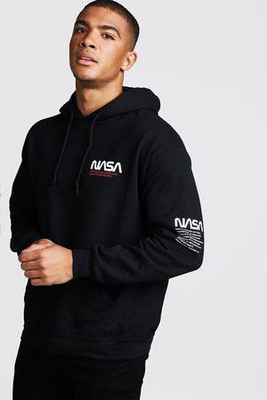 Boohoo Men Hoodies - Mens NASA License Hoodie