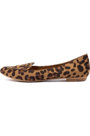 I LOVE BILLY Breane Ocelot Shoes Womens Shoes Casual Flat Shoes