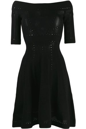 Dsquared2 Women Party Dresses - Off-shoulder knitted dress