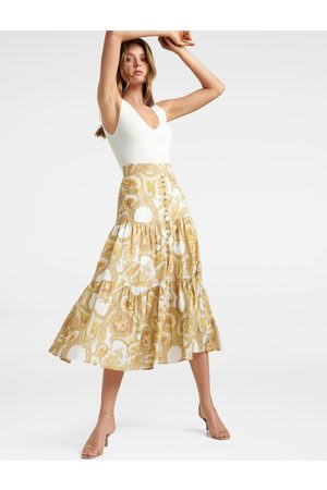 Forever New Women Maxi Skirts - Lilly Tiered Maxi Skirt