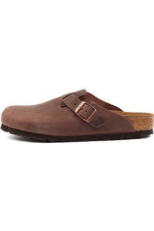 Birkenstock Boston Men's Ol Bk Habana Shoes Mens Shoes Casual Flat Shoes