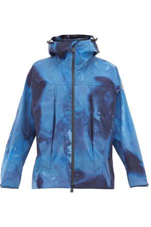 MONCLER GRENOBLE Tie-dye Effect Technical Shell Hooded Jacket - Mens