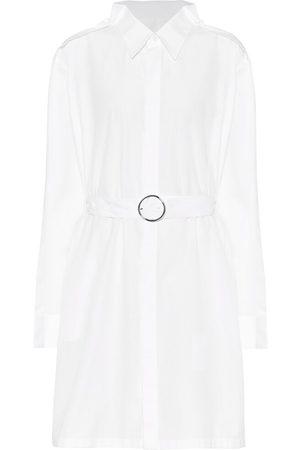 Maison Margiela Cotton-poplin mini shirt dress