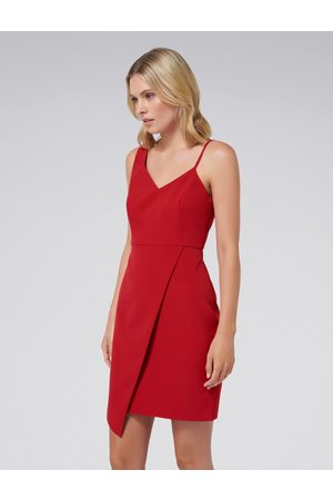 Forever New Paige Asymmetric Hem Dress