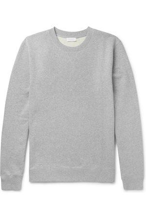 Sunspel Men Sweatshirts - Brushed Loopback Cotton-Jersey Sweatshirt