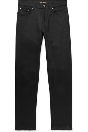 Nudie Steady Eddie Ii Slim-fit Tapered Organic Stretch-denim Jeans