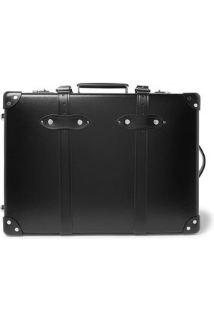 """Globetrotter Centenary 20"""" Leather-trimmed Carry-on Suitcase"""