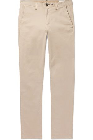 RAG&BONE Fit 2 Slim-fit Garment-dyed Cotton-twill Chinos