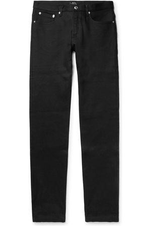 A.P.C Petit Standard Slim-fit Stretch-denim Jeans