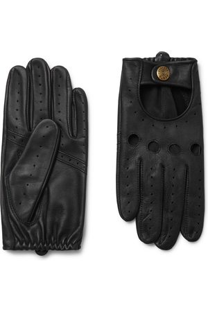 Dents Men Gloves - Silverstone Touchscreen Leather Driving Gloves