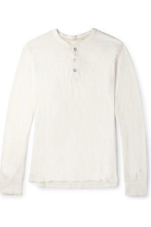 RAG&BONE Cotton-jersey Henley T-shirt