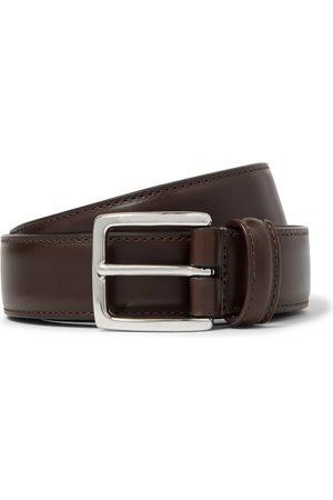 Anderson's 3cm Dark- Leather Belt