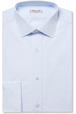Charvet Slim-fit Double Cuff Cotton-poplin Shirt