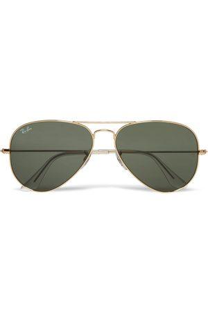 RAY-BAN Aviator Silver-Tone Sunglasses