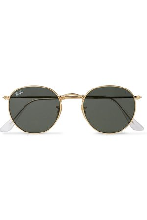 RAY-BAN Round-Frame -Tone Sunglasses