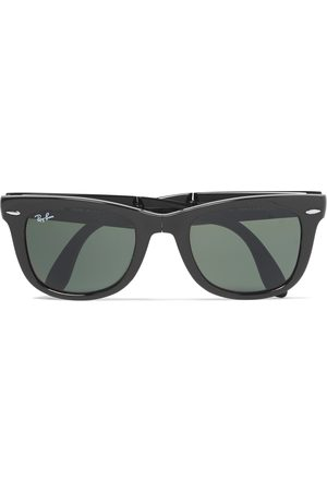 RAY-BAN Men Sunglasses - Wayfarer Folding Acetate Sunglasses