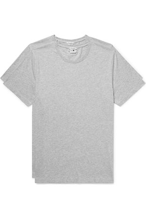 NN.07 Two-pack Mélange Pima Cotton-jersey T-shirts