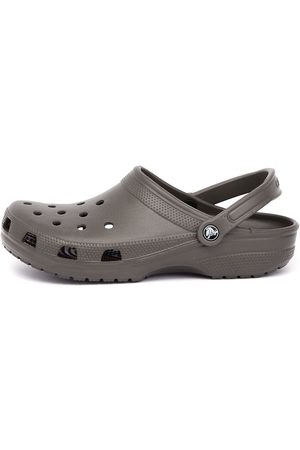 Crocs Men's Classic Chocolate Sandals Mens Shoes Casual Sandals Flat Sandals