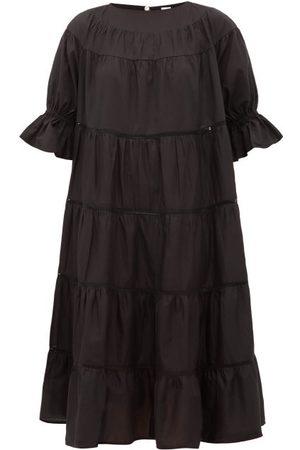 Merlette Women Summer Dresses - Paradis Tiered Cotton Sun Dress - Womens
