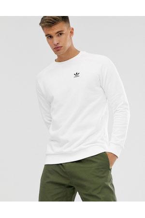 Adidas Originals sweatshirt with small logo in white