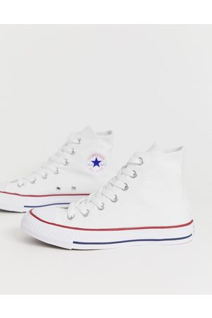 Converse Chuck Taylor All Star Hi white sneakers