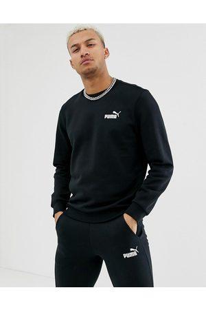 Puma Essentials sweat with small logo in black