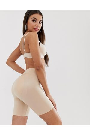 Spanx Suit Your Fancy Butt Enhancer shaping shorts in natural glam-Beige
