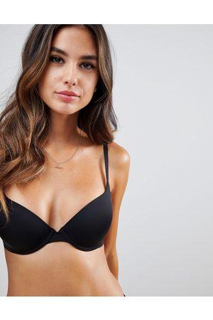 Wonderbra t-shirt bra a - g cup-Black