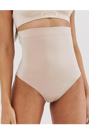 Spanx Suit Your Fancy high waist shaping thong in -Neutral