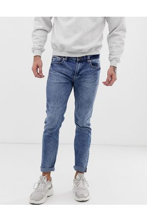 Only & Sons skinny fit jeans in washed blue