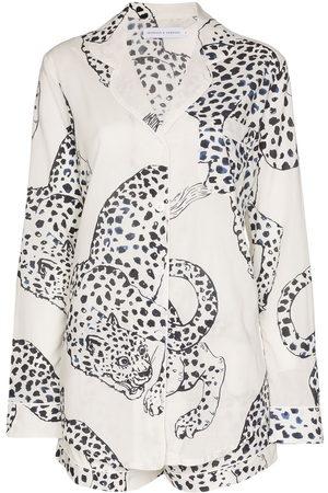 Desmond & Dempsey Women Lingerie Sets - The Jag print cotton pyjamas set