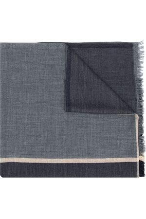 Brunello Cucinelli Colour-block knitted scarf