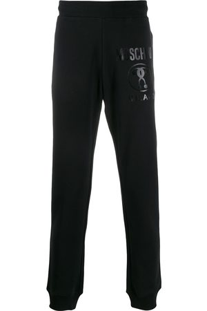 Moschino Men Joggers - Double Question Mark print track pants